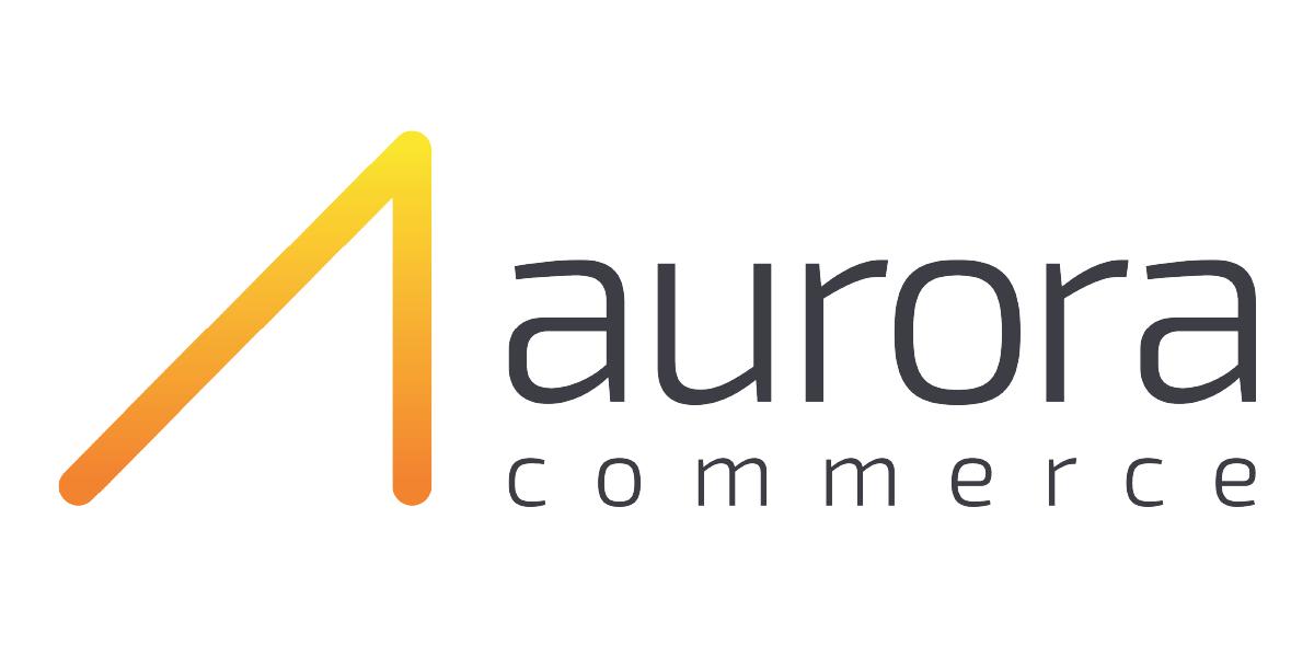 Aurora Commerce logo - white bg
