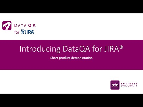 Introducing DataQA for JIRA