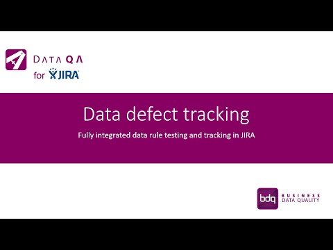 Data Defect Tracking