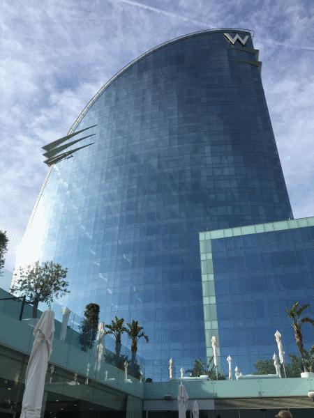The W Hotel, Barcelona. The AtlasCamp 2016 venue.