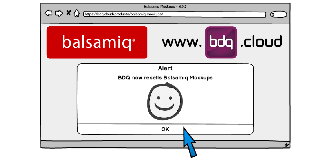 BDQ is proud to resell Balsamiq Mockups
