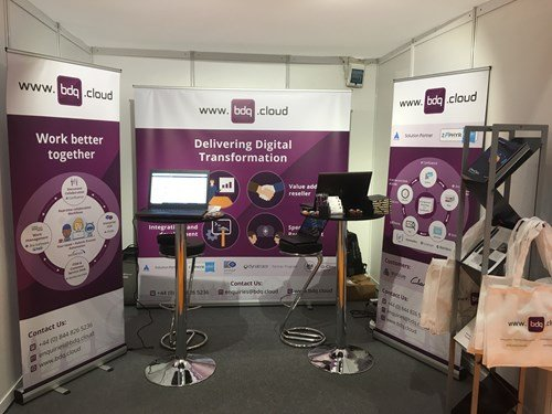 BDQ's stand at the Public Sector Show 2018